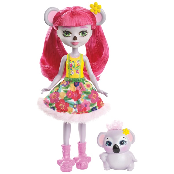 Enchantimals Karina Koala Doll With Koala Figure