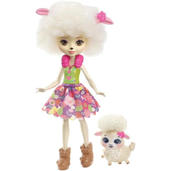 Enchantimals Lorna Lamb Doll with Sheep Figure