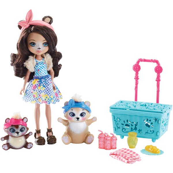 Enchantimals Paws for a Picnic Play Set