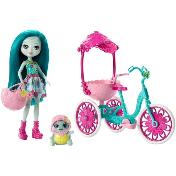 Enchantimals Taylee Turtle Doll Tricycle Play Set