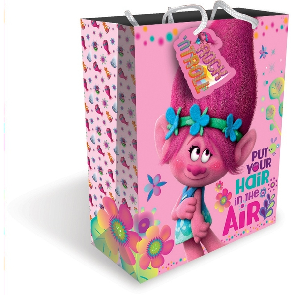 Gift Bag Toys : Trolls large bag gift bags wrap uk