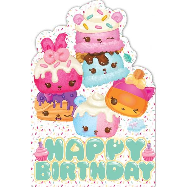 Num Noms No Age Favourite Birthday Card