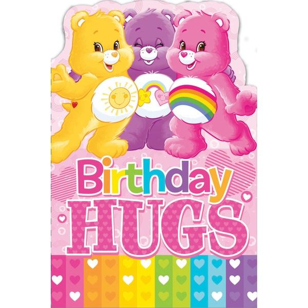 Care Bears Birthday Card