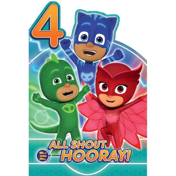 PJ Masks Age 4 Favourite