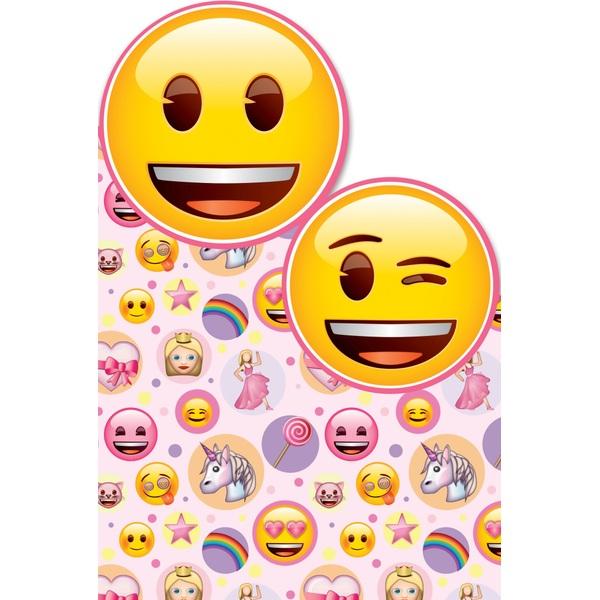 Emoji Birthday Card Girl - No Age