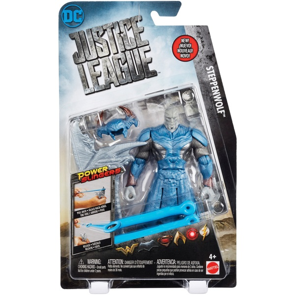 Justice League Power Slingers Steppenwolf Figure Justice