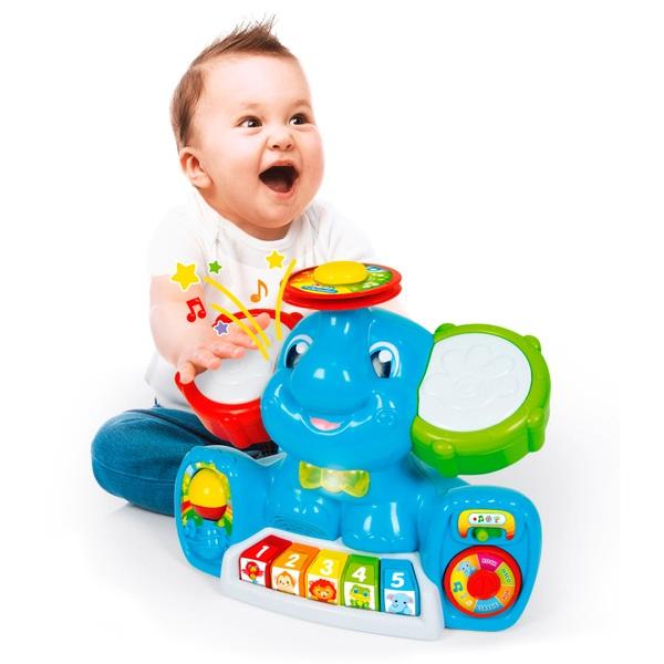 Baby Clementoni Musical Elephant