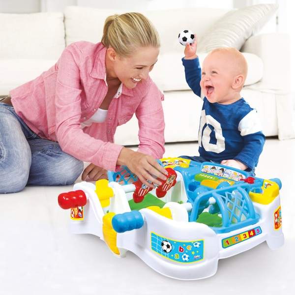 Baby Clementoni Interactive Football Table