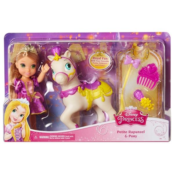 Disney princess petite princess rapunzel maximus pony disney princess uk - Petite princesse disney ...
