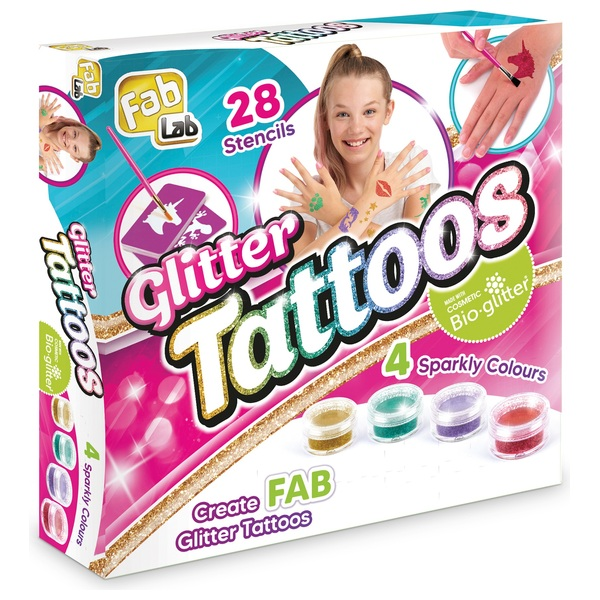 Fablab Glitter Tattoo Kit Cosmetics Uk