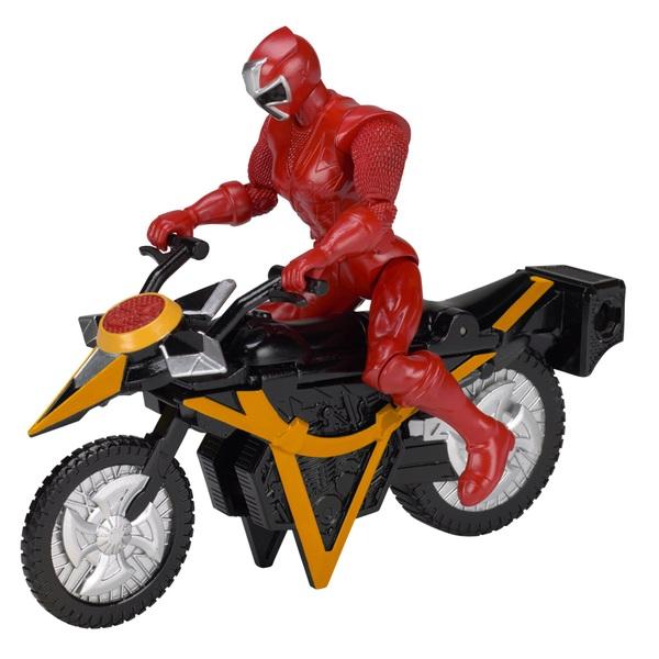 Power Rangers Ninja Steel Mega Morph Cycle Red Ranger