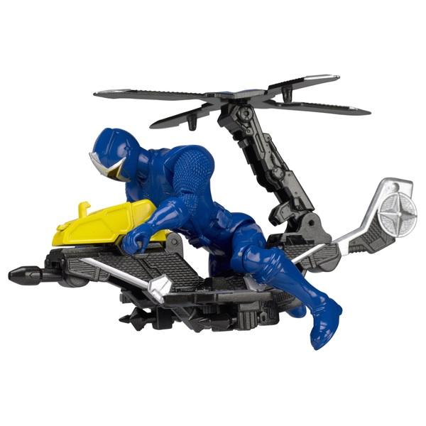 Power Rangers Ninja Steel Mega Morph Helicopter Blue Ranger