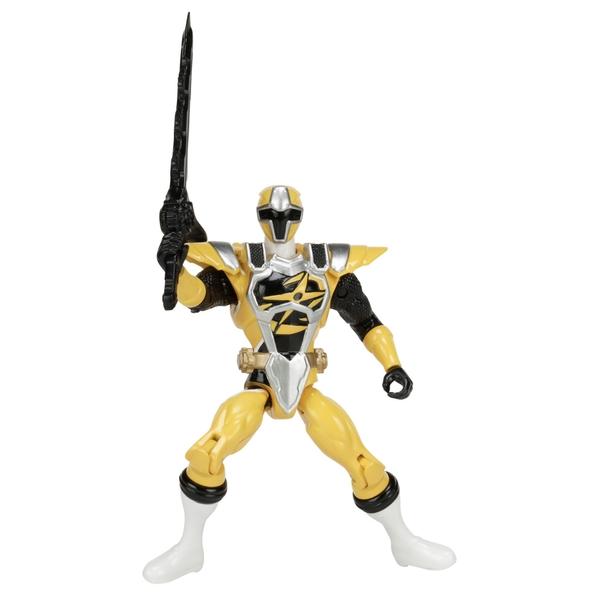 Power Rangers Ninja Steel 12.5cm Yellow Ranger Action Hero Figure
