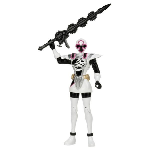 Power Rangers Ninja Steel 12.5cm White Ninja Master Ranger