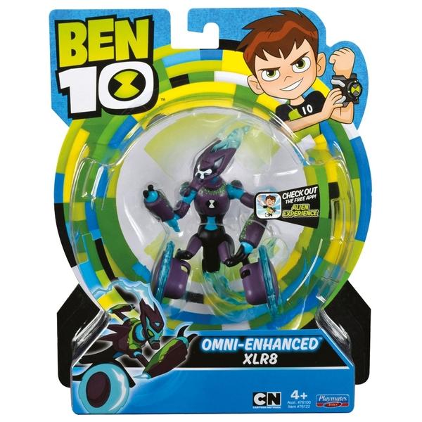 Ben 10 Action Figures - Omni Enhanced