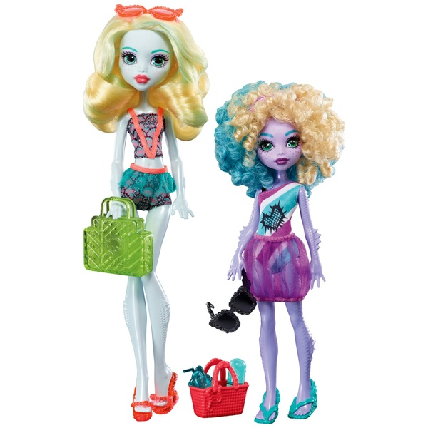 Monster High Family Dolls Lagoona Blue  Kelpie Blue  Monster