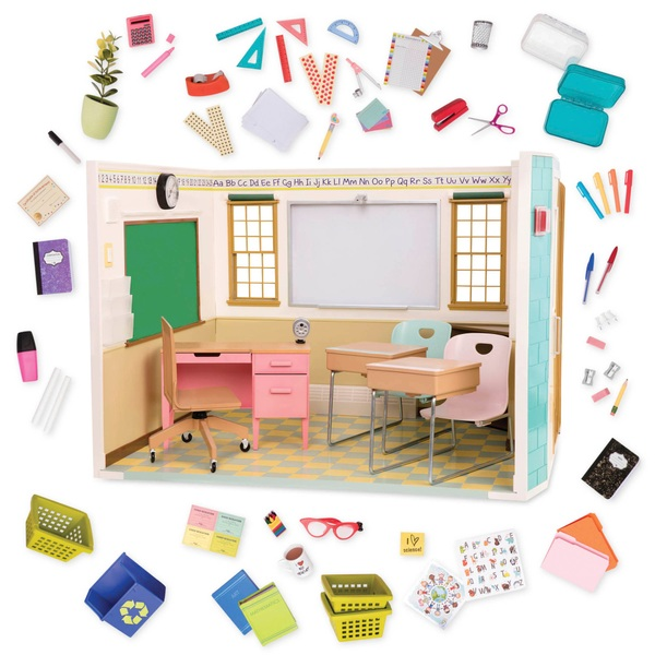 Our Generation Awesome Academy School Room Our Generation Playsets Uk