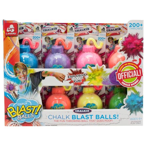 Chalk Blast Balls!