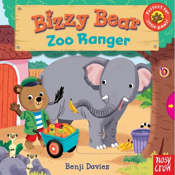 Bizzy Bear: Zoo Ranger HB Book by Benji Davies