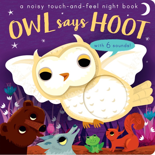 Owl Says Hoot Sound Book