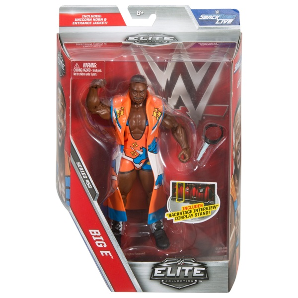 WWE Elite Series 53 Big E Figure