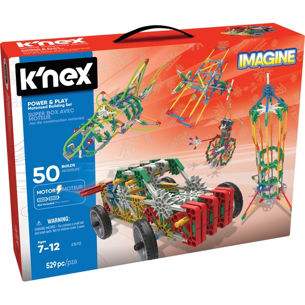 K'NEX Power and Play 50 Model Motorised Building Set