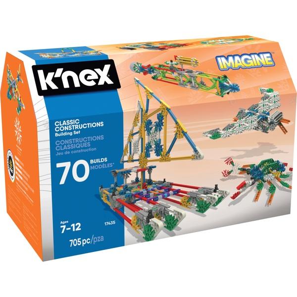 Toys For Age 70 : K nex classic constructions model building set
