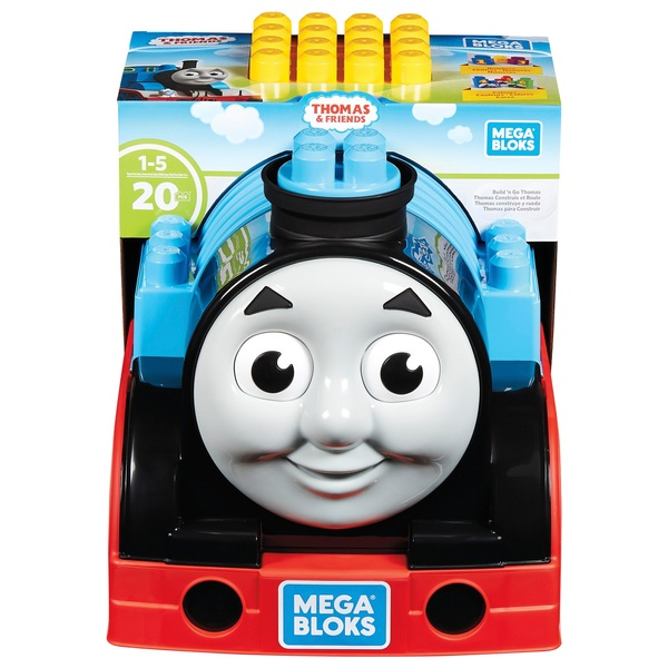 Mega Bloks Thomas Build & Go Educational Toy - Smyths Toys
