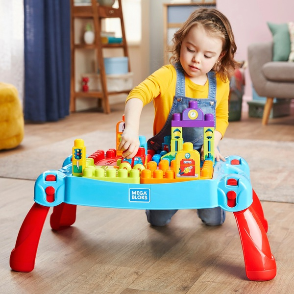 Mega Bloks Build & Learn Table Classic - Mega Bloks UK
