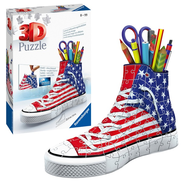 Ravensburger American Flag 3D Sneakers Puzzle