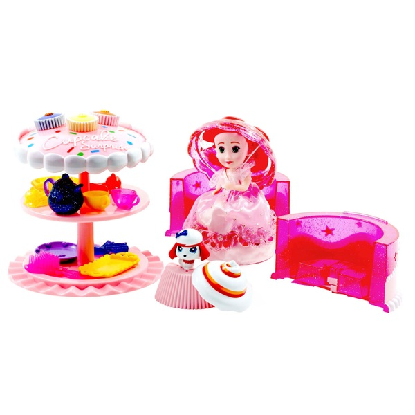 Cupcake Surprise Birthday Cake Play Set