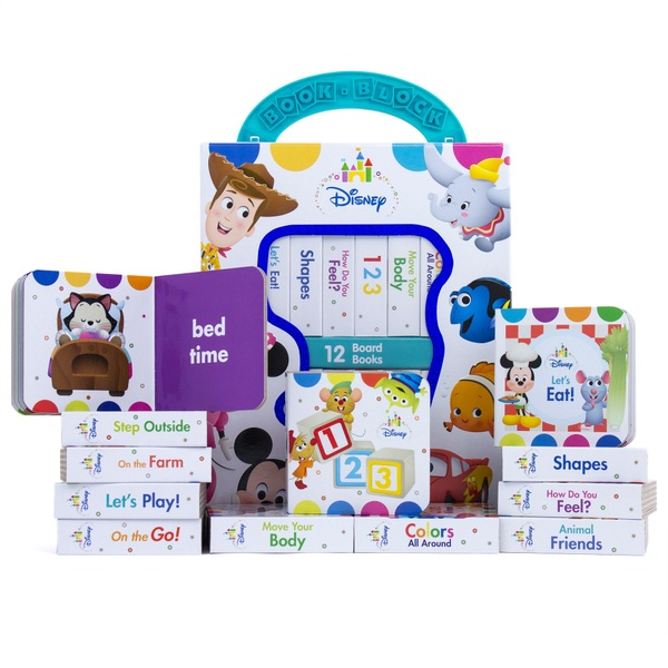 Disney Baby: My First Library Board Book Set