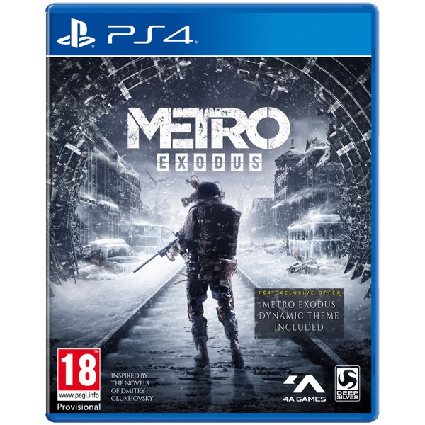 New Ps4 Games Coming Soon : Metro exodus ps coming soon playstation uk