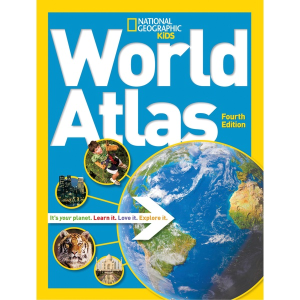 National Geographic Kids World Atlas 4th Edition HB Book