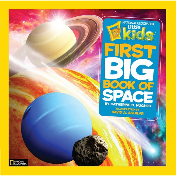 National Geographic Little Kids First Big Book of Space HB