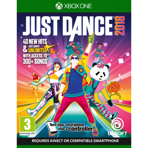 Xbox 1 Games 2018 : Just dance xbox one games ireland