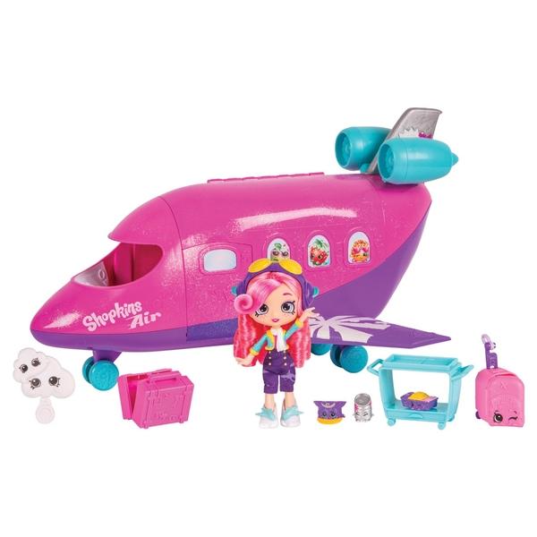 Shopkins Shoppies Skyanna's Jet Playset