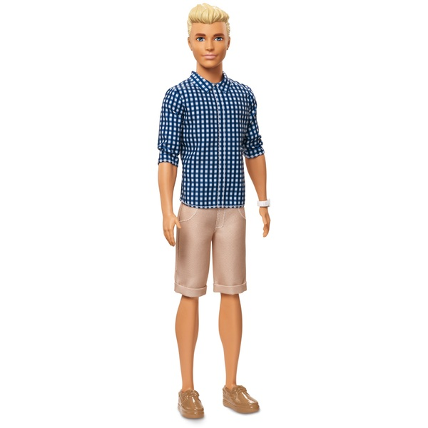 Ken Fashionistas Preppy Check Doll - Barbie Fashionistas ...