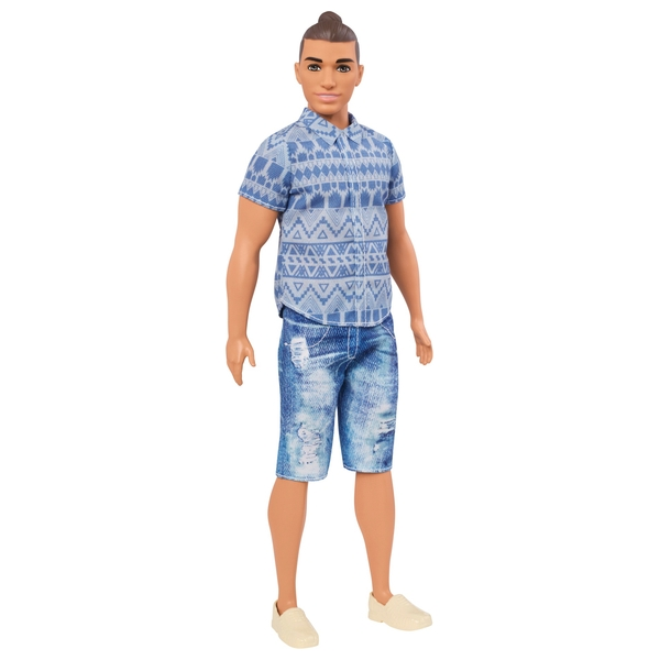 Ken Fashionistas Distressed Denim Doll