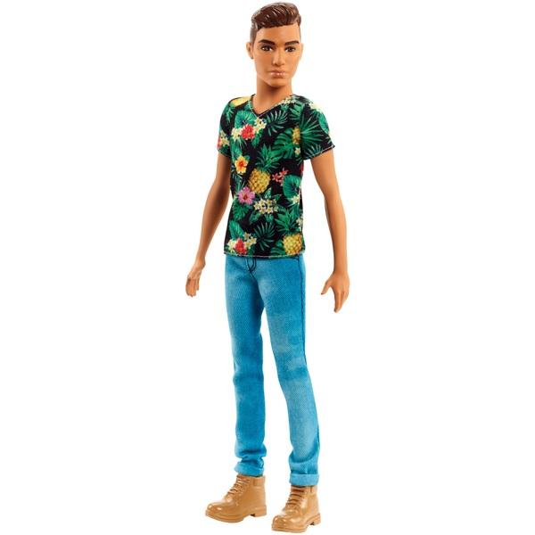 Barbie Ken Fashionistas Doll 15 Tropical Vibes Shirt