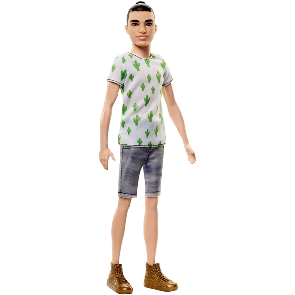 Ken Fashionistas Slim Ken Doll in Cactus Shirt