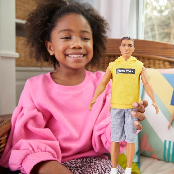 Barbie Ken Fashionista - Yellow NY Hoodie