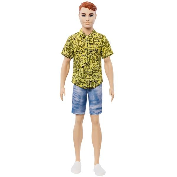 Ken Fashionista Doll 139 Red Hair