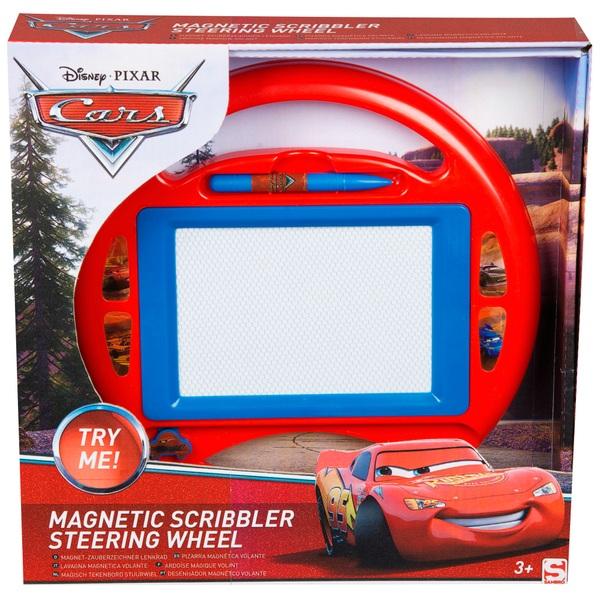 Cars Medium Magnetic Steering Wheel Scribbler