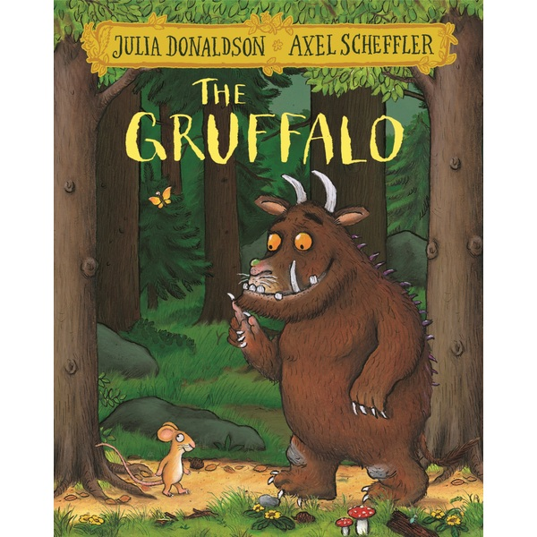 The Gruffalo Pb Book By Julia Donaldson Story And