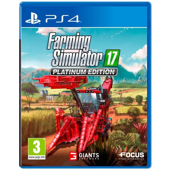 Farming Simulator 17 Platinum PS4