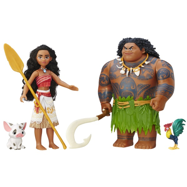 Disney Moana 2 Doll Collection Pack