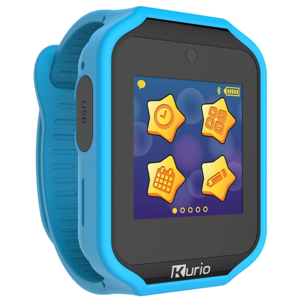 Kurio Watch 2.0 + Blue and Red Strap