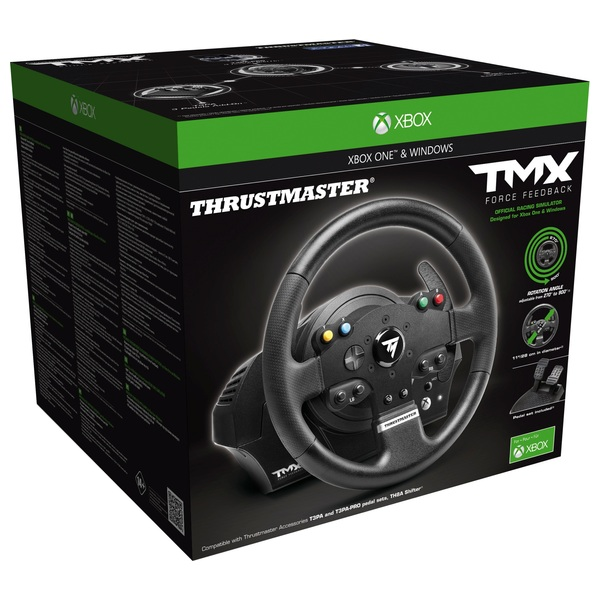 Thrustmaster TMX Force Feedback Racing Wheel for PC/XB1 - Xbox One  Accessories UK