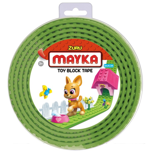 Mayka Toy Block Building Tape Medium (2 Stud 2 Metre) – Light ...